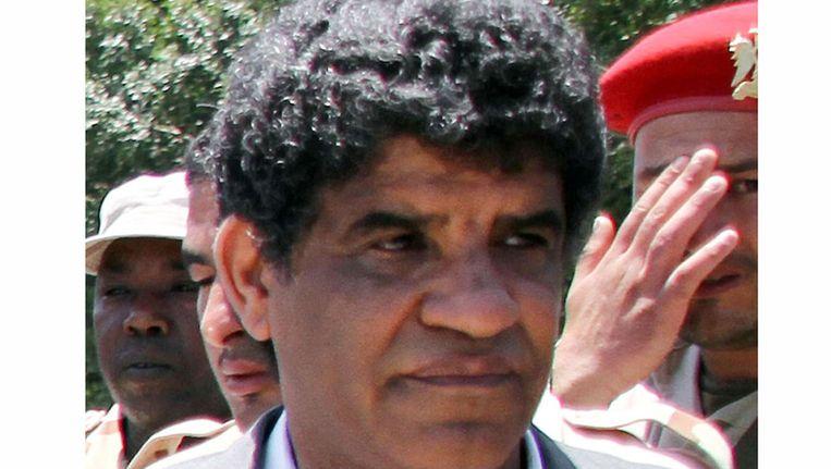 Abdullah al-Senussi op archiefbeeld. Beeld AFP