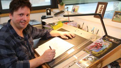 Nachtwacht nog maar pas getekend en striptekenaar Steve heeft alweer een avontuur klaar: deze keer van de Kiekeboes