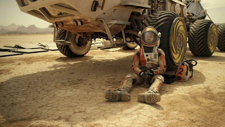 Matt Damon in The Martian Beeld null