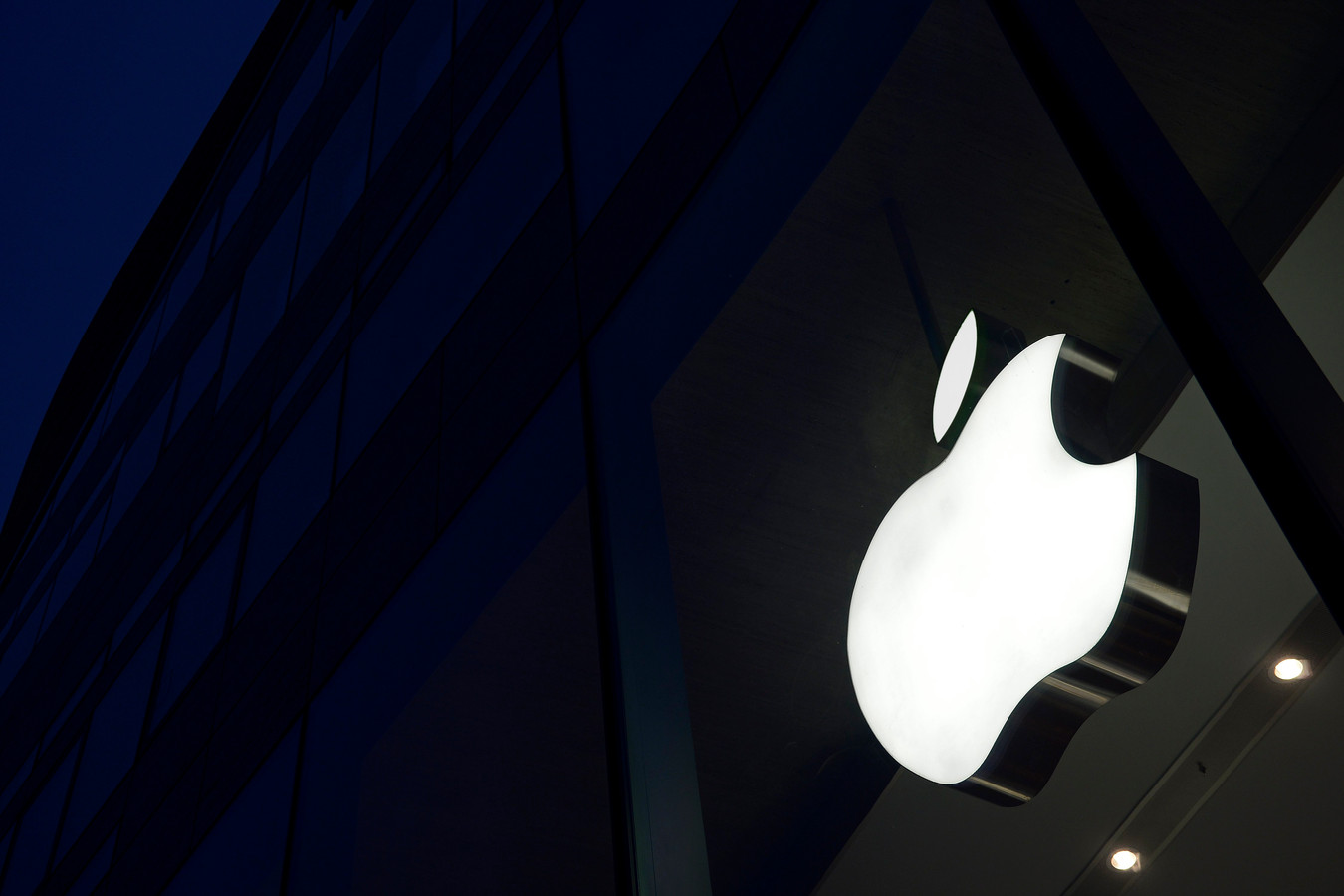 Het Apple-logo.