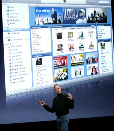 'Apple kondigt einde van iTunes aan'