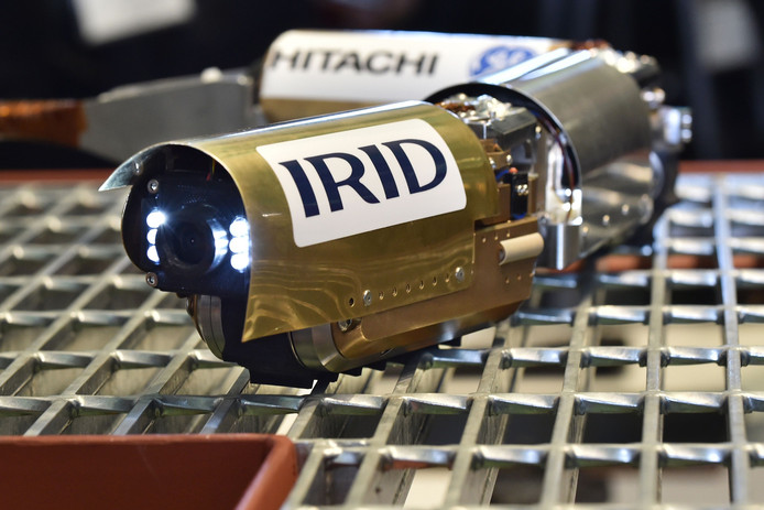 Een robot gaat nader onderzoek  doen in de centrale.