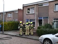 Brand in woning aan Waalstraat in Middelburg