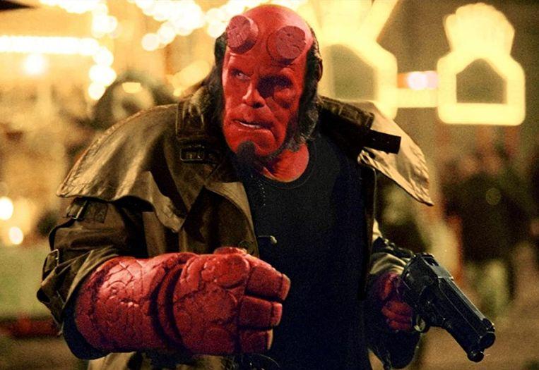 Ron Perlman in Hellboy (Guillermo Del Toro, 2004). Beeld