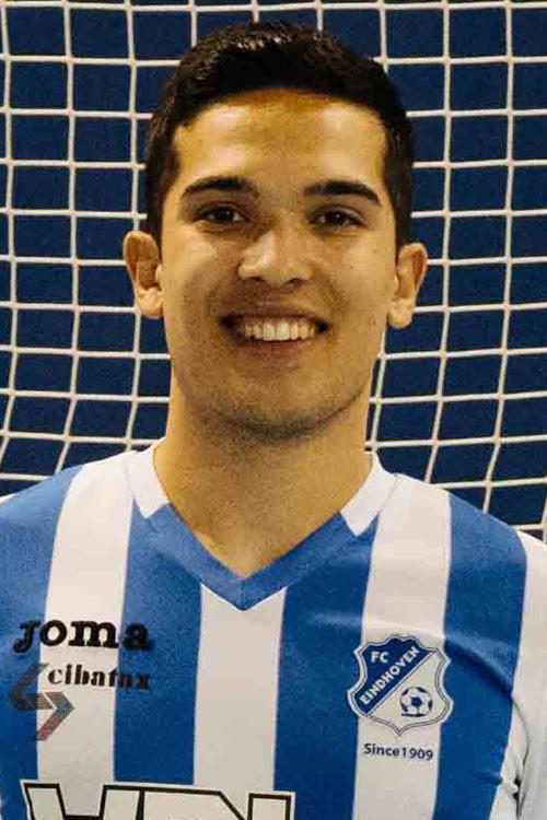 Dennis van den Eijnden, zaalvoetballer FC EIndhoven Futsal