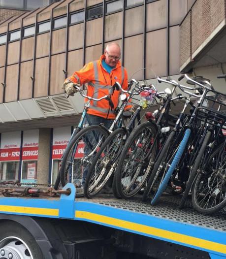 234 fietsen verwijderd in aanloop naar Koningsdag