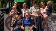 Tweemaal vrouwelijk viergeslacht bij familie D'Hauwe Mertens na geboorte Marie