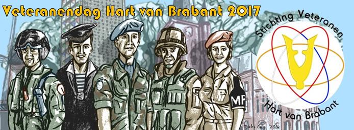 De Vrijthof in Hilvarenbeek is zaterdag 28 oktober het decor van Veteranendag.
