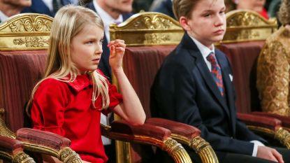 Prinses Eléonore viert haar tiende verjaardag