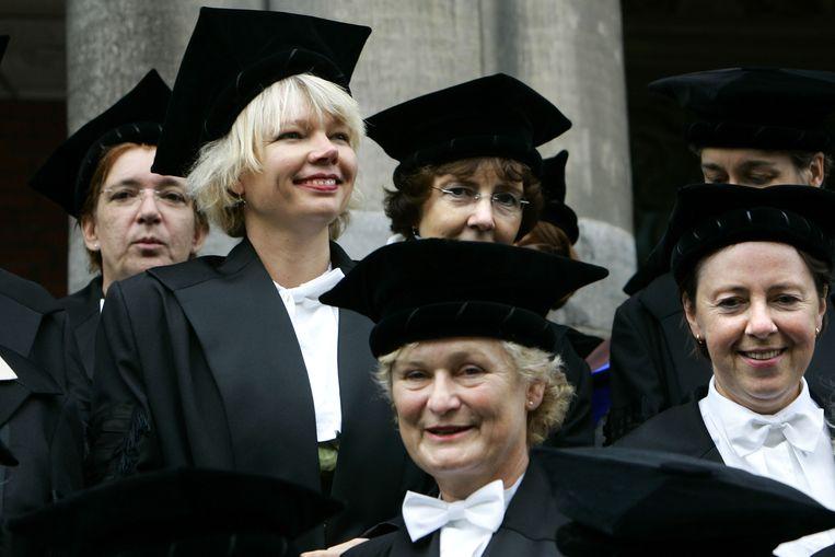 Vrouwelijk hoogleraren in Groningen.  Beeld ANP