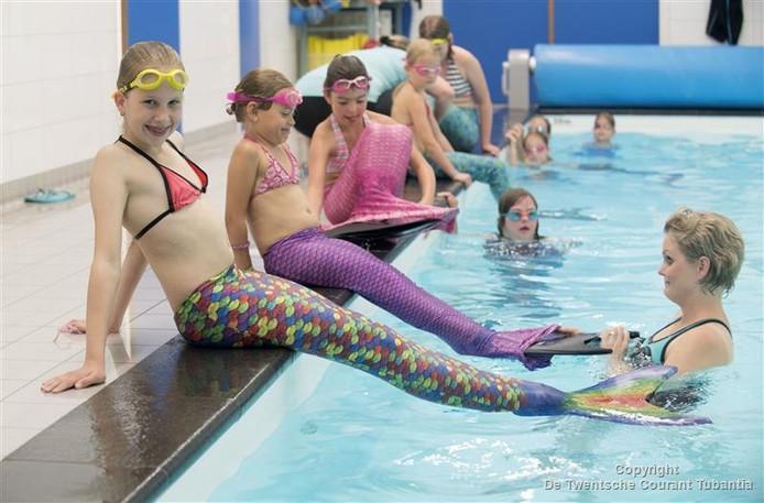 Lotte Geerdink had altijd al de droom om te zwemmen als een zeemeermin.