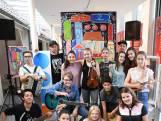 Opening van 'Kunst op de Kaart'  in centrum van Roosendaal