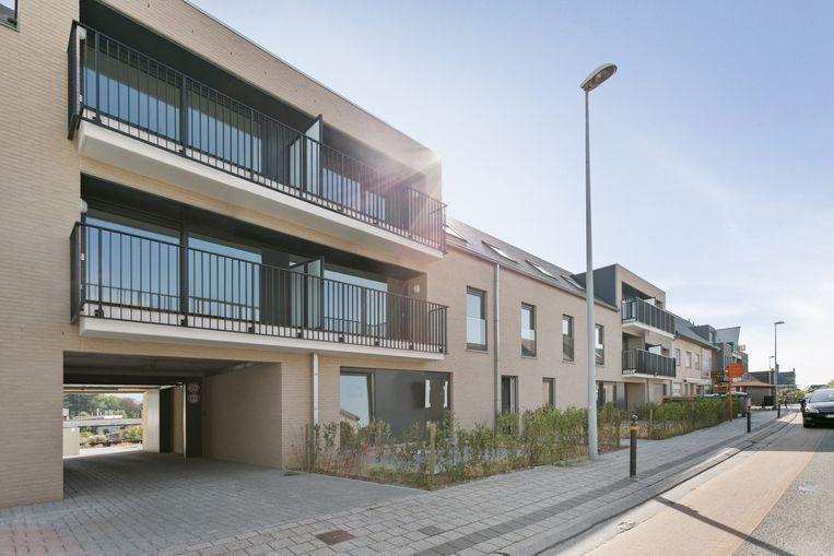 Elk van de elf appartementen in Residentie Donk Zuid beschikt over een eigen, afgesloten garage.