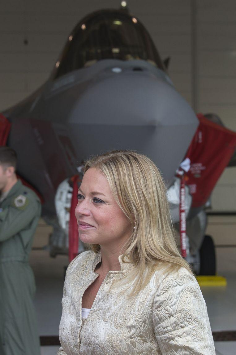 Een JSF-gevechtsvliegtuig kopen en onderhouden lukt nog net met 100 miljoen. Beeld anp