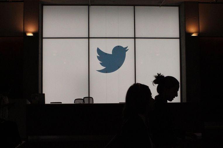 Het Twitter hoofdkwartier in San Francisco Beeld AFP