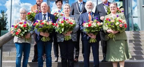 Koninklijke onderscheiding voor acht Berkellanders