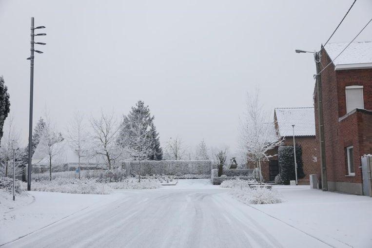 De Truiense industriesneeuw in Brustem-Dorp