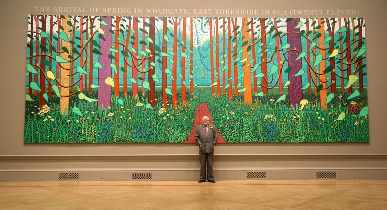 Everybody loves fucking Hockney.  Beeld Getty Images