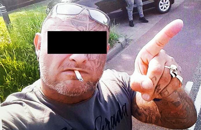 Verdachte Errol J., de 52-jarige Delftenaar wordt er van verdacht Karel Pronk te hebben doodgeschoten