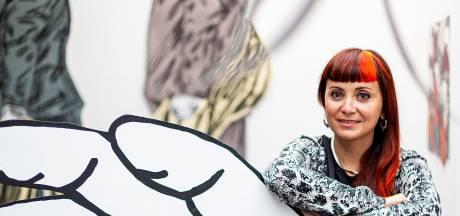 Spaanse kunstenares Susanna Inglada onderzoekt met haar kunst de machtspositie van politici