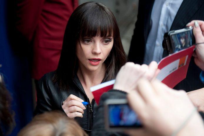 Actrice Christina Ricci.
