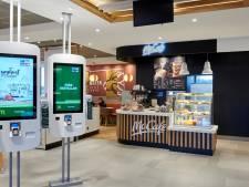 Grondig vernieuwde McDonald's Apeldoorn krijgt McCafé