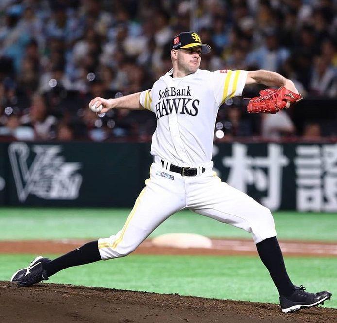 Rick van den Hurk wist met Fukuoka SoftBank Hawks in zes jaar vijf keer de hoogste honkbalcompetitie van Japan te winnen.