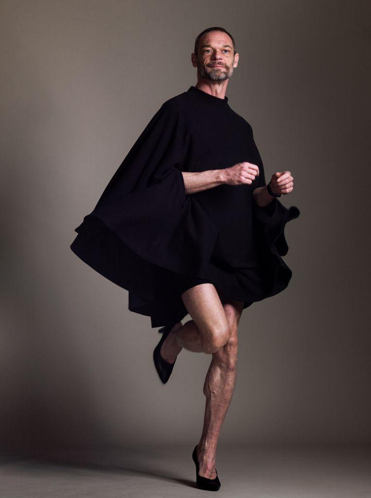 Fotograaf Jochem Brouwer (Amsterdam, 1972) was vroeger de assistent van de Amerikaanse fotograaf Remsen Wolff, die in 1998 overleed. Brouwer erfde het archief van zo'n 200.000 beelden. Op FotoFestival Naarden (25 mei t/m 30 juni) is voor het eerst werk van Wolff te zien: portretten van New Yorkse transgenders en dragqueens. Beeld Koos Breukel