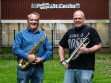 Amateurs van St. Cecilia op podium Musis Sacrum met de profs van het Gelders Orkest