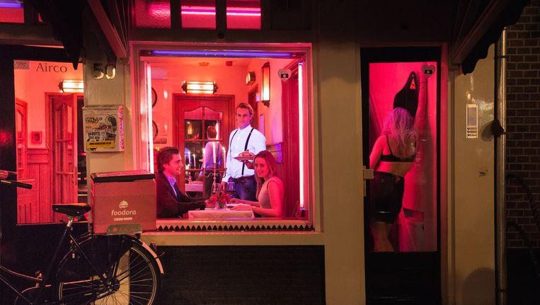 De Wallen is een van de locaties tijdens Amsterdam Eet Uit! Beeld Joris Raaijman