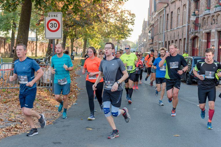 De Great Bruges Marathon is meteen een gevestigde waarde op de Brugse evenementenkalender.
