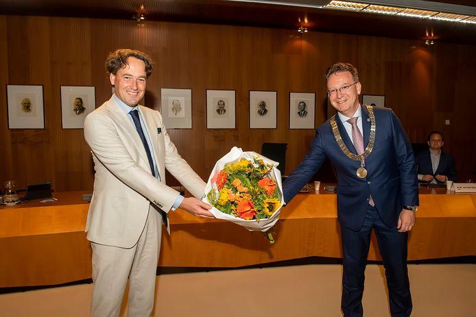 IJSSELSTEIN, Paul Groeneveld/Pix4Profs. Wethouder Bernd Roks neemt afscheid van de gemeente IJsselstein