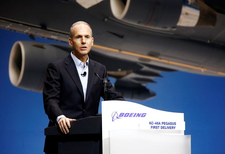 Boeing-topman Dennis Muilenburg.