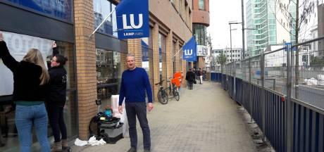 Lampenwinkel sluit vanwege werk Vestdijk in Eindhoven