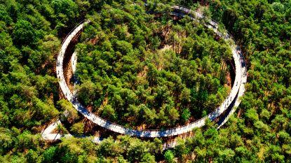Al 165.000 mensen fietsten door de Bomen sinds opening in juni