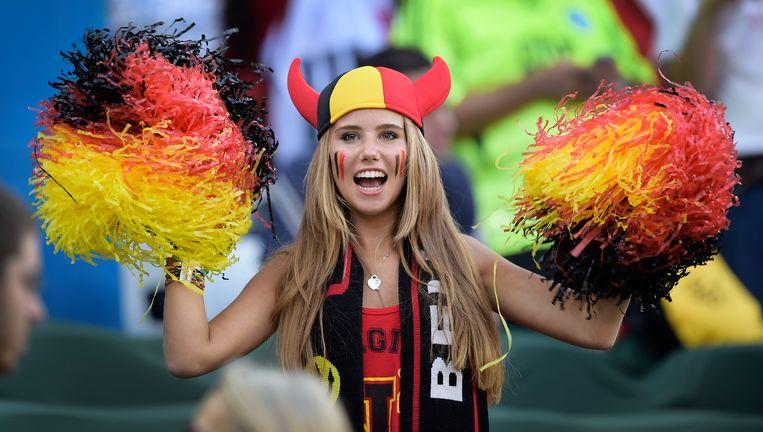 Axelle Despiegelaere, die in Brazilië uitgroeide tot WK-babe.