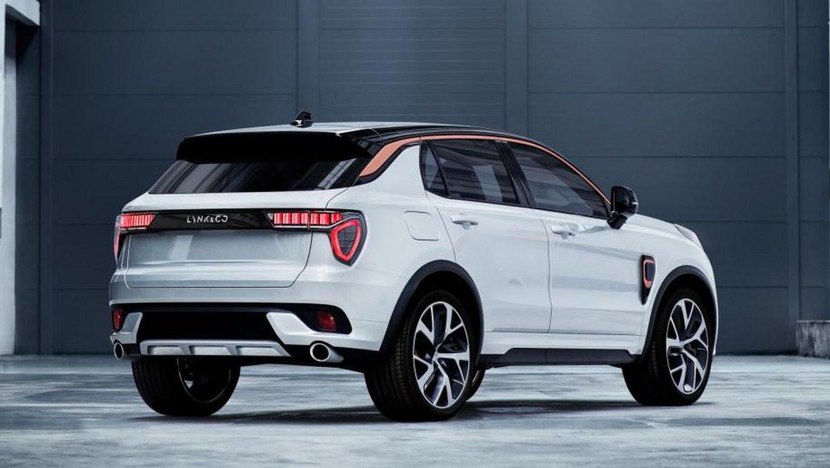 Het eerste model van Lynk & Co is een SUV in de klasse van de VW Tiguan