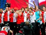 Feyenoord feestelijk gehuldigd in De Kuip
