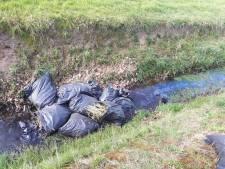 Grote hoeveelheid hennepafval gedumpt in Beltrum