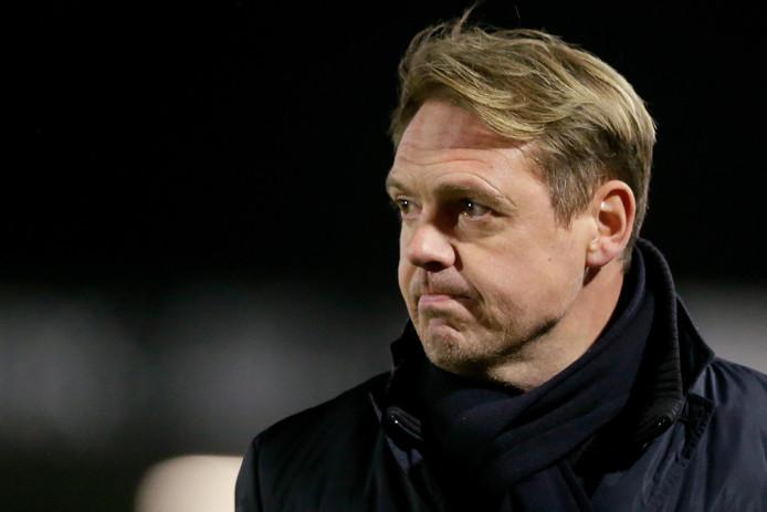 Ole Tobiasen, de nieuwe trainer van Almere City.