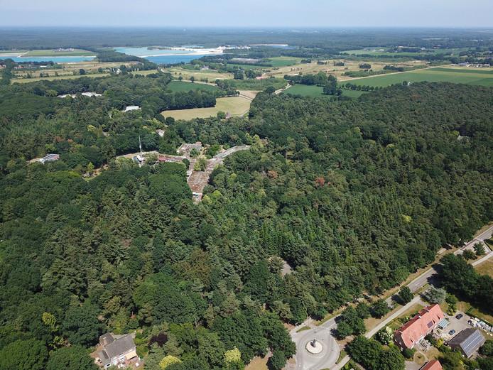 Het Zorgboog-terrein in Bakel.