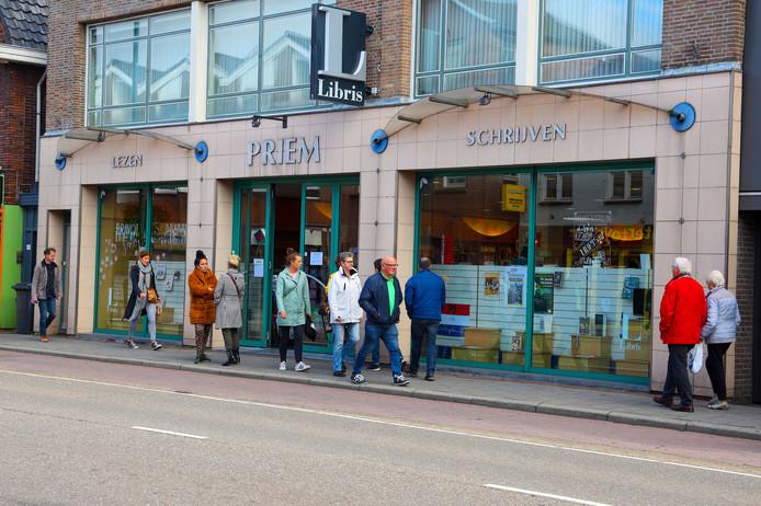 De 65 jaar oude boekhandel Priem in Valkenswaard was donderdag voor het laatst open.