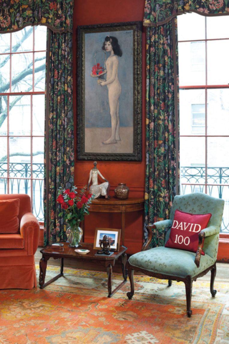 'Fillette à la corbeille fleurie' van Pablo Picasso Beeld AP