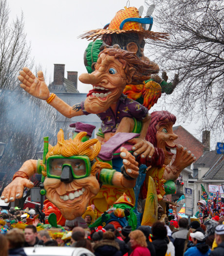 Verkeershinder door carnaval in Hulst