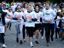 Angèle a couru pour la lutte contre le cancer à Boitsfort