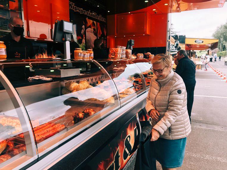 De zaterdagmarkt in Aalst
