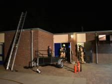 Brand in meterkast van voetbalverenigingen in Huissen