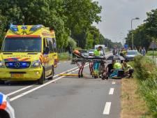 Motorrijder zwaar gewond na botsing op N231