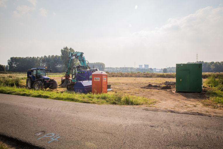 FC Sint-Kruis-Winkel, Aanleg Voetbalterrein