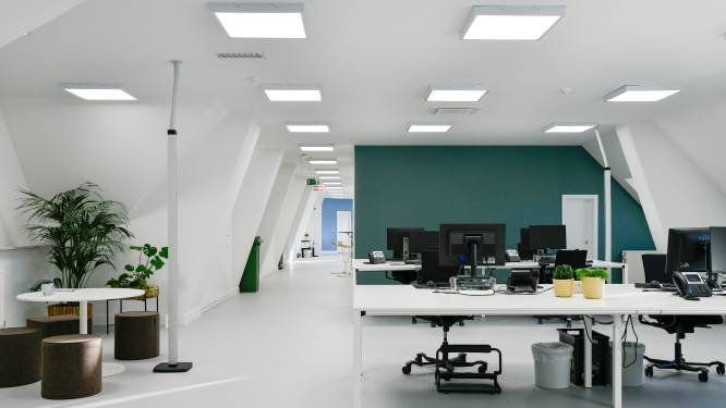 Toekomstige kantoren Vlaamse overheid voorzien werkplek voor helft van personeel